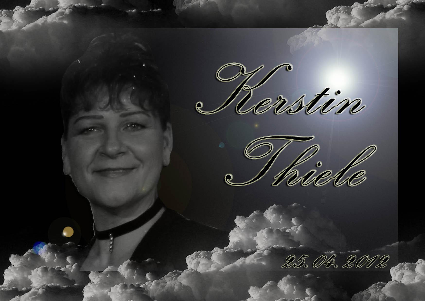 Nachruf Kerstin Thiele
